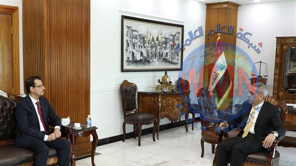 أمين بغداد يبحث مع رئيس مجلس القضاء إجراءات إزالة التجاوزات