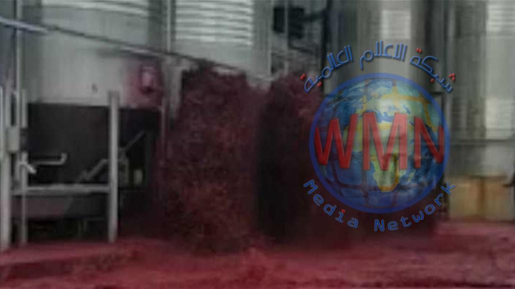 فيديو مذهل… تسونامي من النبيذ الأحمر