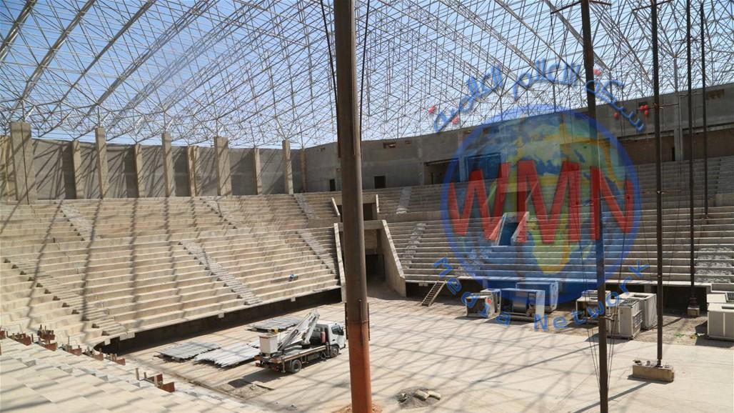 """""""بغداد آرينا"""" مشروع طال انتظاره يقترب من الإنجاز"""