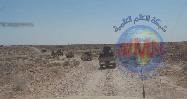 الحـ..الشعبي..ـشد والجيش ينفذان عملية مشتركة في صحراء الأنبار