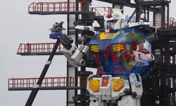 اليابان تصنع روبوتا عملاقا بطول 18 مترا