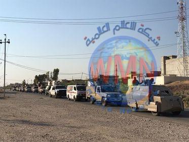 اللواء 33 للحـ..الشعبي..ـشد ينفذ عملية أمنية جنوب غرب الموصل