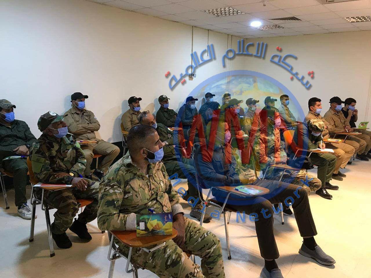 مدرسة التدريب العسكري في مديرية مقاتلة الدروع تستأنف نشاطها بعد انقطاع أستمر لأشهر