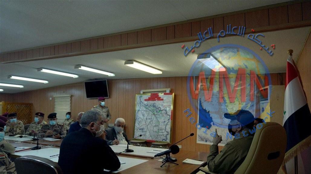 الكاظمي من صلاح الدين: لا مكان لعودة الإرهاب