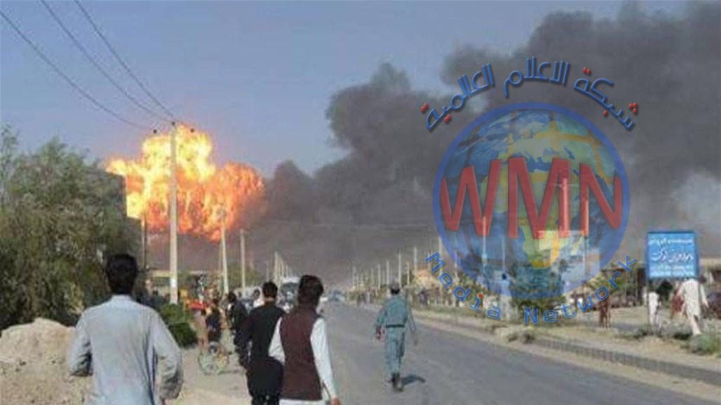 12 قتيلاً وأكثر من 100 جريح بانفجار سيارة مفخخة في افغانستان