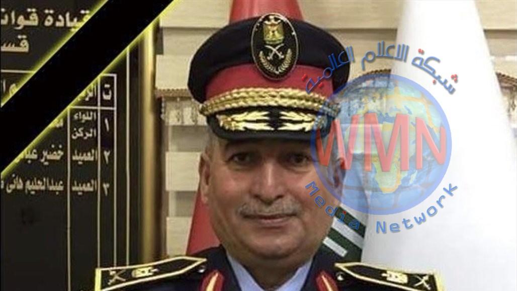 مصرع ضابط برتبة لواء جراء حادث سير في ذي قار