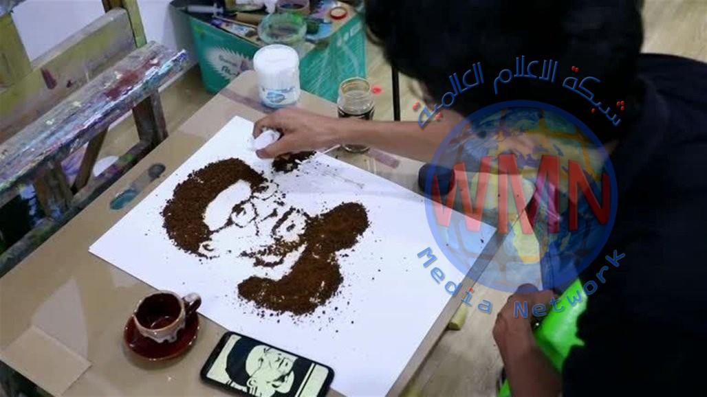 ابداع عراقي بنكهة القهوة.. اليكم الصور