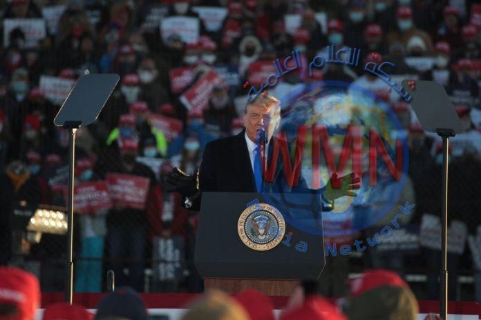 دراسة: مسيرات ترامب الانتخابية تسببت بـ30 الف اصابة بكورونا ووفاة 700 شخص