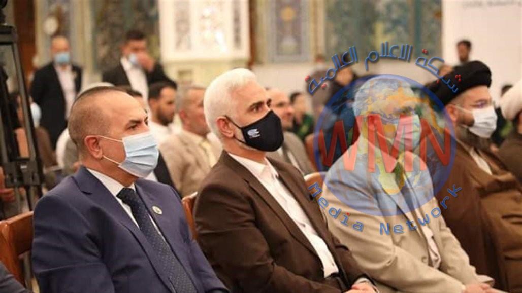 كمبش يشارك بالاحتفال المركزي للوقف الشيعي والعتبة الكاظمية بمناسبة أسبوع المولد النبوي