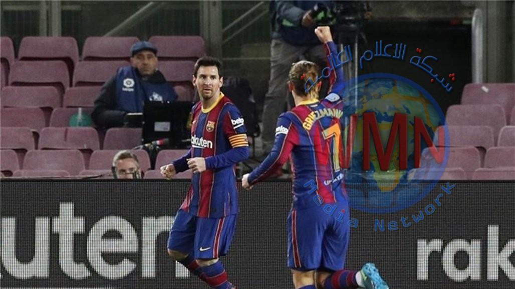 ميسي يُعيد برشلونة الى طريق الانتصارات من بوابة ليفانتي
