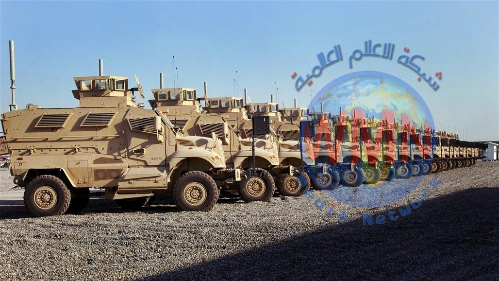 واشنطن تمنح العراق 30 سيارة مدرعة
