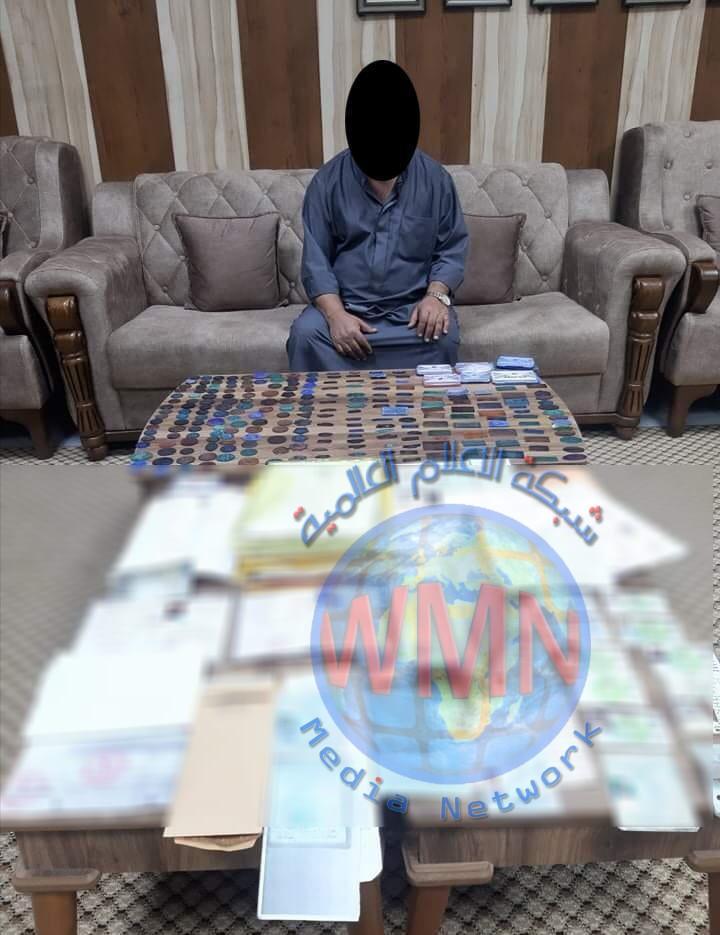 الشرطة الاتحادية القبض على مزور بحوزته عدد كبير من الأختام والوثائق المزورة في بغداد
