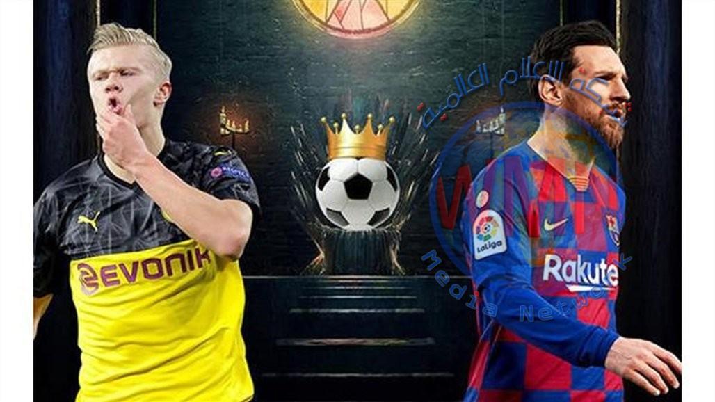 برشلونة يدخل المزاد على هالاند.. ويترقب قرار ميسي