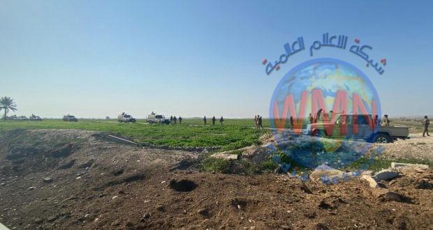 مكافحة المتفجرات للواء ٢٢ بالحـ..الشعبي..ــد تعالج عبوتين ناسفين أثناء تقدم القوات شرق صلاح الدين