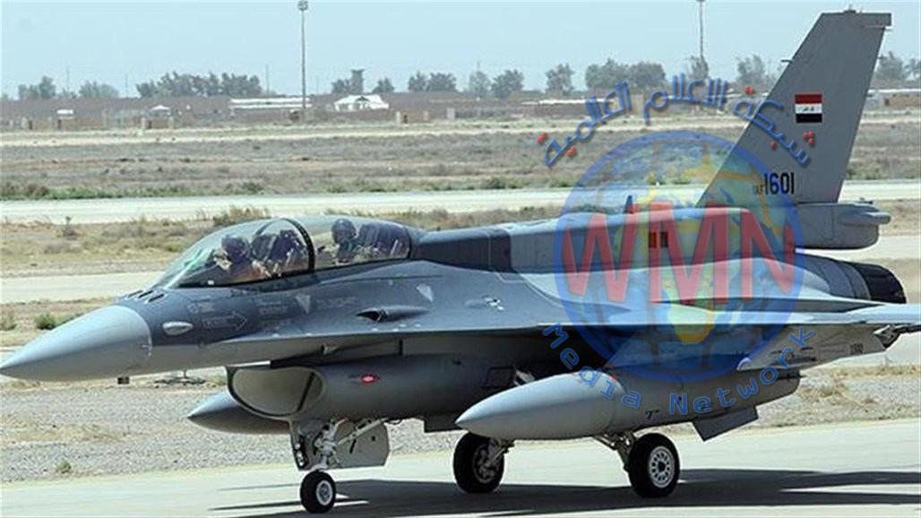 طائرات F_16 تشن سلسلة ضربات جوية في محافظتين