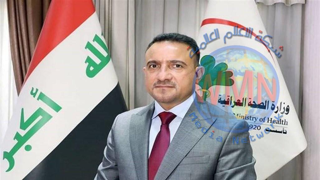 وزير الصحة حسن التميمي يصل الى محافظة ذي قار
