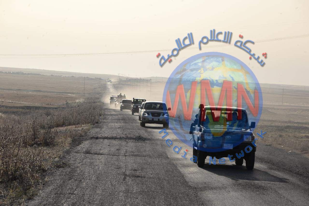 """الحشد الشعبي يشرع بالمرحلة الثالثة من عمليات """"علي ولي الله"""" جنوب الموصل"""