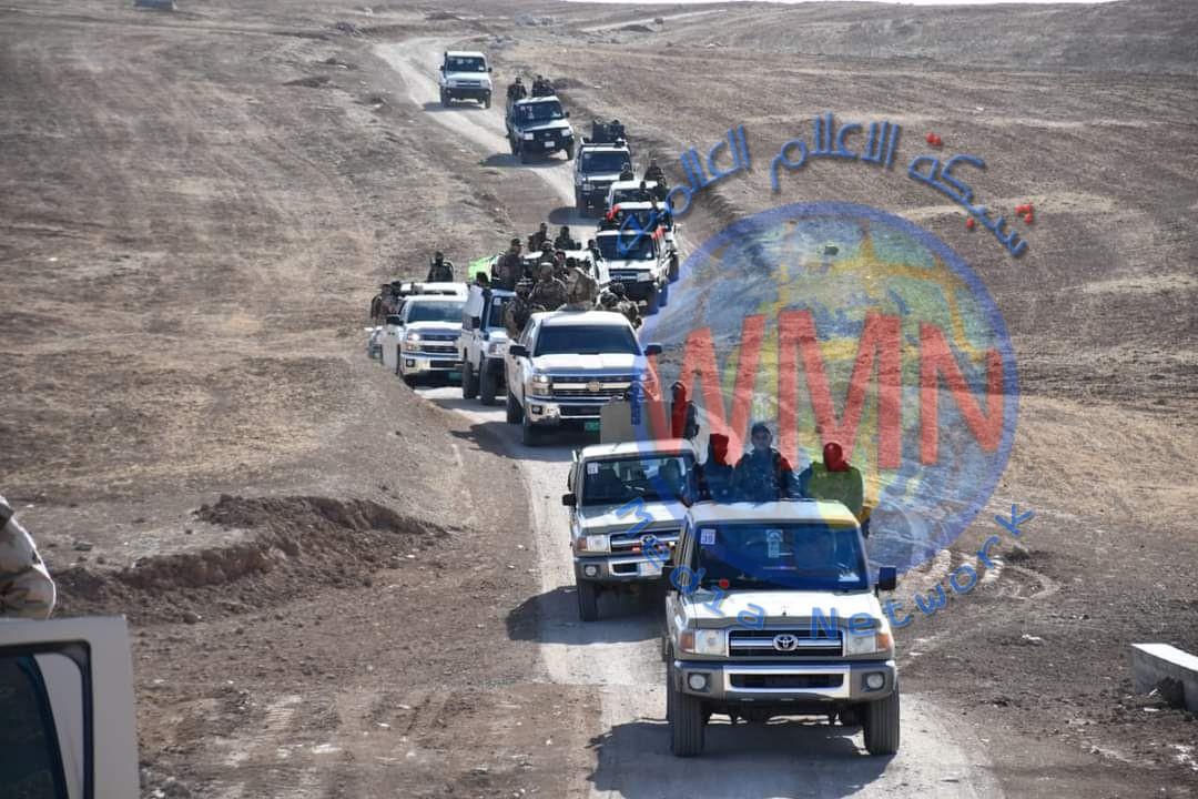 الحشد والجيش ينفذان عملية دهم وتفتيش لملاحقة خلايا داعش في تلعفر