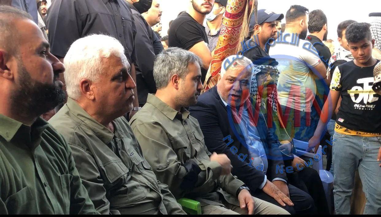 الفياض  يطلق حملة الشاعر سمير صبيح الخدمية لإسناد الجهة المنفذة لطريق بغداد الكوت