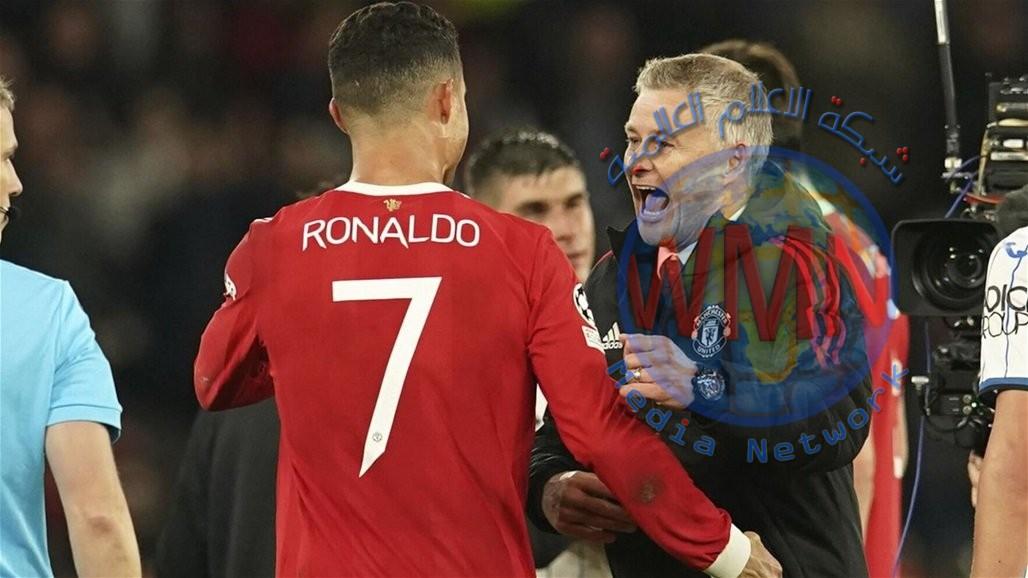 مدرب اليونايتد يتغنى برونالدو بعد ليلة الأبطال.. ماذا قال عنه؟