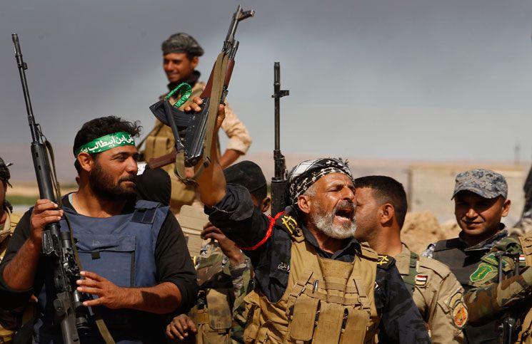 القوات العراقية:الحشد الشعبي يفجر سيارة مفخخة بمحيط تلعفر