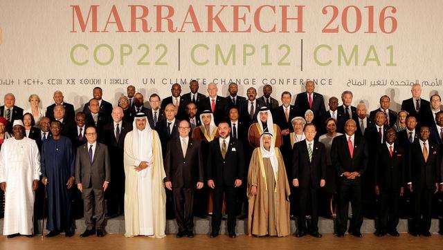 زعماء إفريقيا يطالبون الدول الكبرى بالمساعدة في الحد من آثار تغير المناخ
