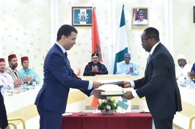 المغرب ونيجيريا يطلقان مشروع إنجاز خط أنابيب للغاز
