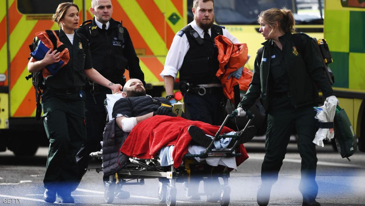 أرقام جديدة لأعداد الضحايا بـ هجوم لندن