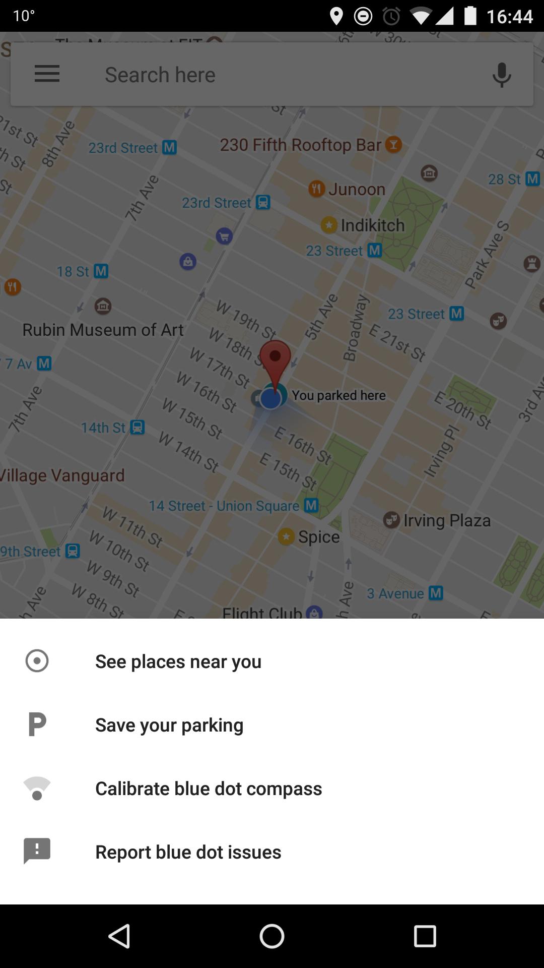 جوجل تطلق ميزة جديدة لتذكيرك بمكان ركن سيارتك