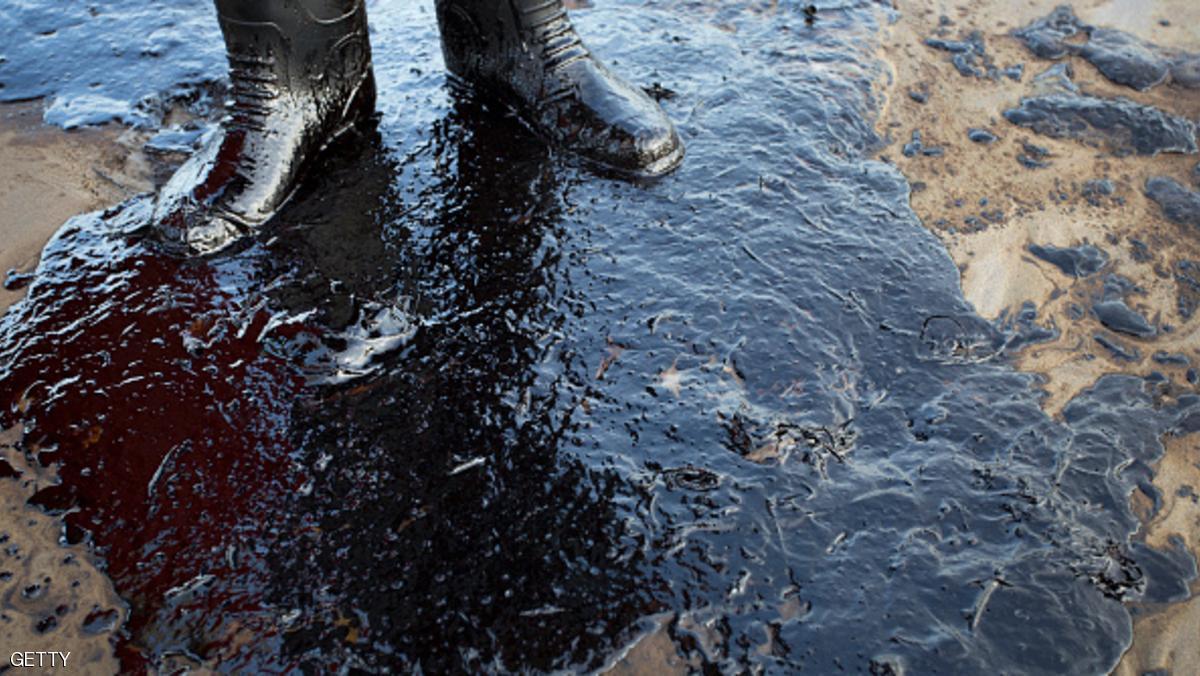 ألاسكا تسرب نفطي في موئل للحوت الأبيض