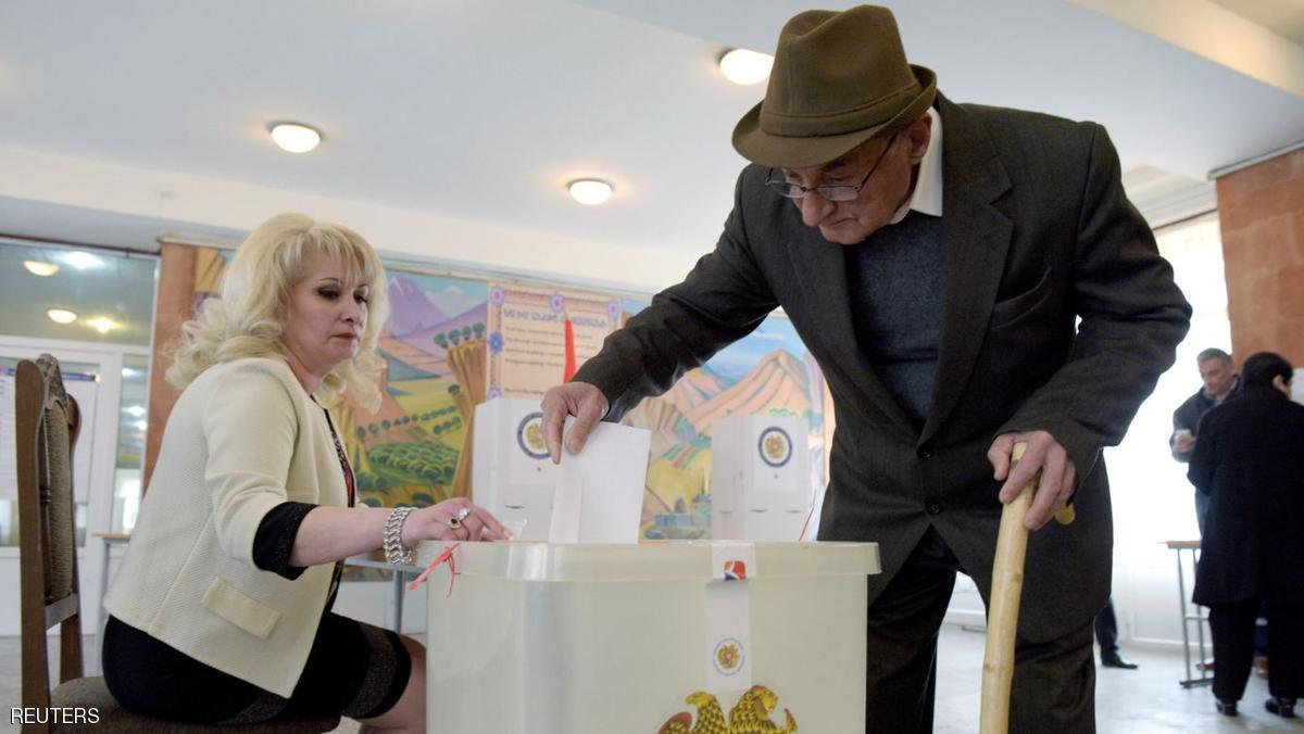 الحزب الحاكم في أرمينيا يتصدر الانتخابات التشريعية