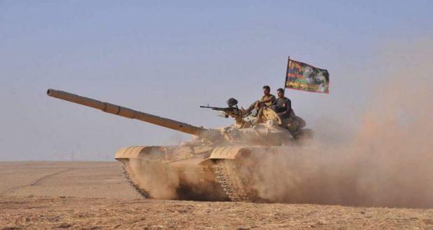 الحشد الشعبي يقتل 7 عناصر من داعش ويدمر عجلة لهم شمال صلاح الدين