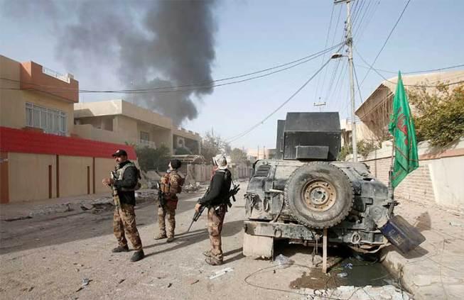هجوم مسلح على نقطة تابعة للحشد الشعبي في اللطيفية جنوب بغداد