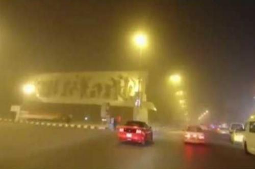 موجة غبار كثيف تتوجه الى بغداد في الساعات المقبلة