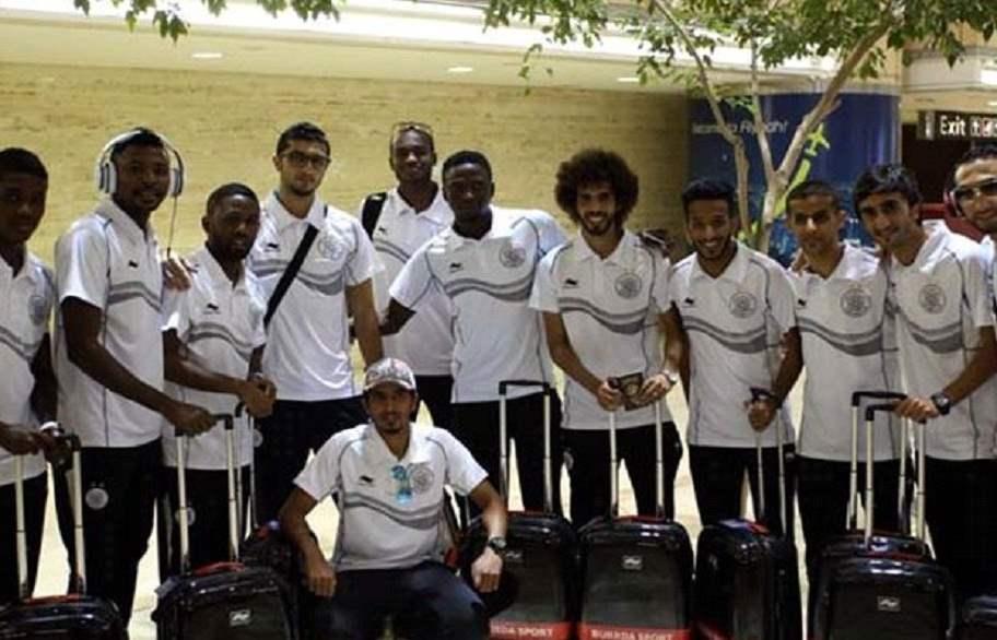 المنتخب القطري يصل الى مقر إقامته في البصرة