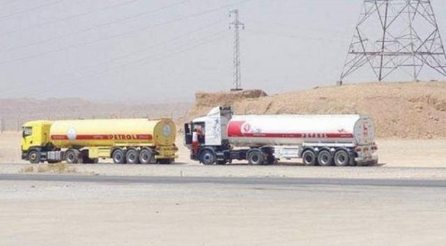 ضبط شاحنة لتهريب النفط في سيطرة الصفرة في ديالى