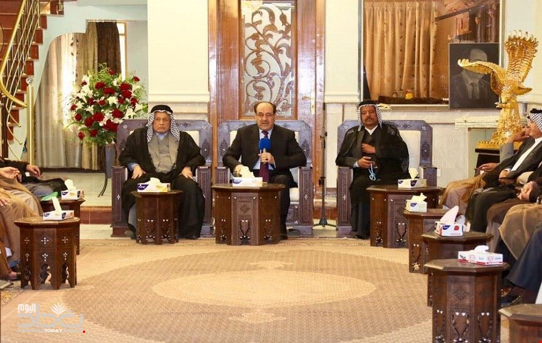 """المالكي يدعو الى حكومة قوية قادرة على """"اكمال"""" عملية البناء والتقدم"""