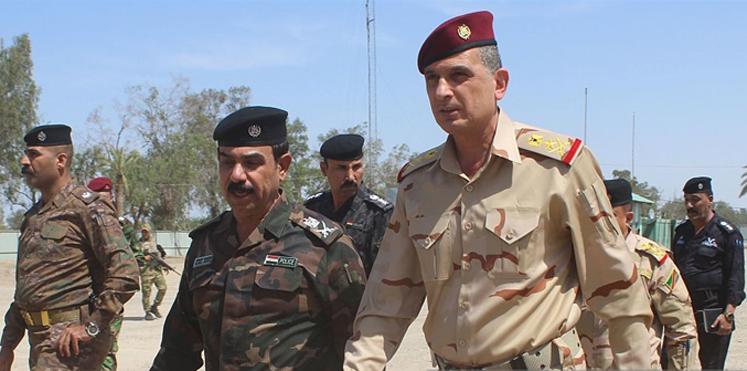 رئيس اركان الجيش الغانمي يصل الى سنجار
