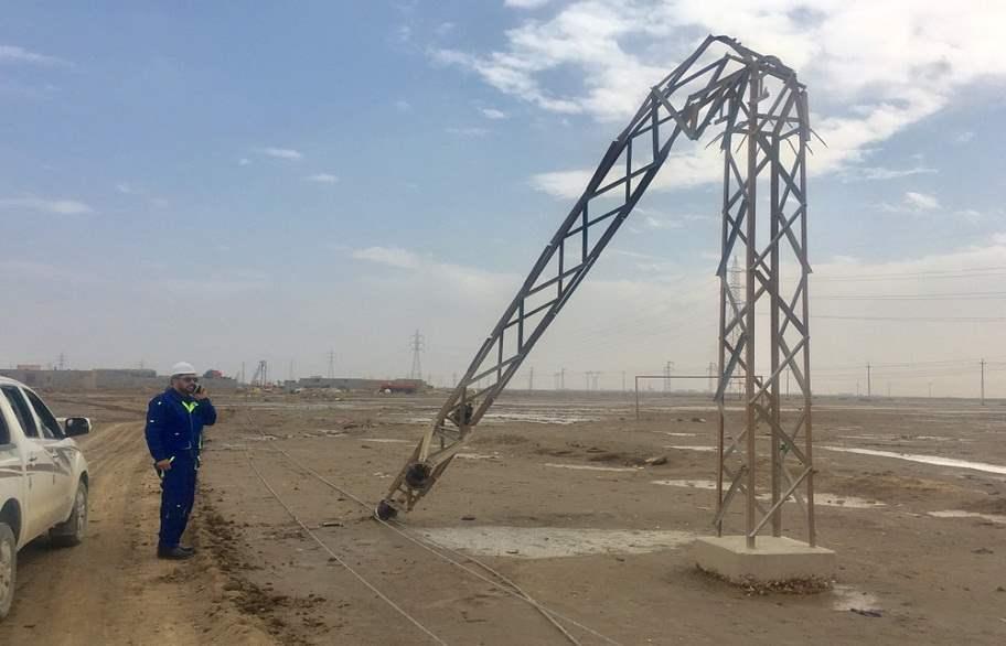 كهرباء ذي قار: اصلحنا جميع الأعطال الناجمة عن الإمطار التي شهدتها المحافظة