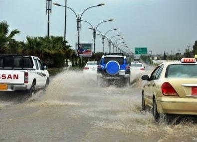 موجة أمطار في اقليم كردستان