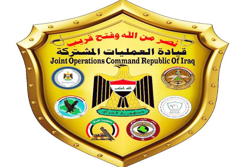 """العمليات المشتركة والحشد الشعبي تناقشان تعقب """"داعش"""" وإعادة الانتشار (صور)"""