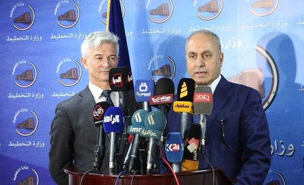 العراق يوقع مع الاتحاد الأوروبي اتفاقية للاصلاح المالي في العراق