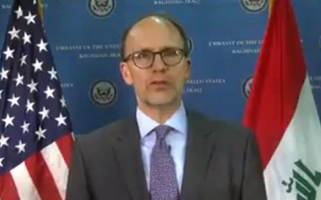 السفير الأمريكي يكشف موقف واشنطن من ولاية ثانية للعبادي والتصويت الالكتروني