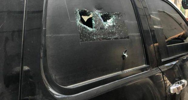 بالصور.. نجاة القيادي في حركة انصار الله الاوفياء من محاولة اغتيال في بغداد
