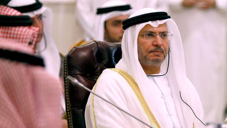 قرقاش: لابد من تفعيل الدور العربي لحل الأزمة السورية