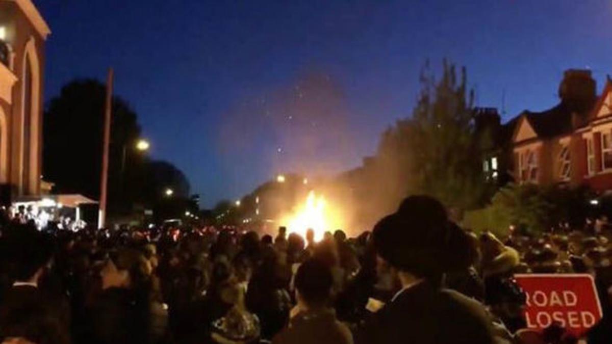 إصابة 30 شخصاً بانفجار في حفل يهودي شمالي لندن