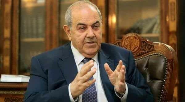 """علاوي يحذر من الدخول بـ""""فراغ دستوري"""": عالجوا المشاكل قبل تسمية رئيس الوزراء"""