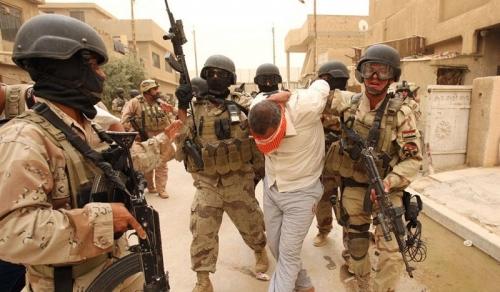 القبض على خمسة دواعش بأيمن الموصل
