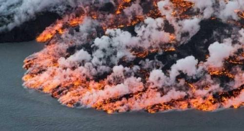 بركان ضخم يهدد بدمار شمال أوروبا