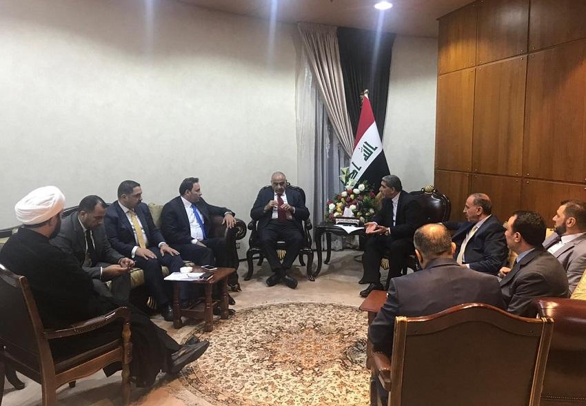 عبدالمهدي يجتمع مع كتلتي الاصلاح والبناء حول التشكيلة الحكومية